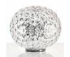 Kartell Lámpara de mesa LED Planet esférica, transparente