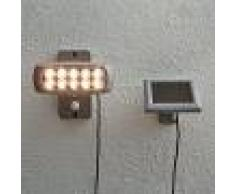 Best Season Foco LED solar Powerspot con sensor, gris