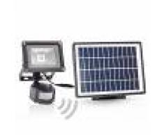 Smartwares Foco LED exterior solar Lennja detector movimiento