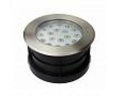 Barcelona LED Foco bañador LED Empotrable en suelo 18W 12V-DC IP67 Blanco cálido