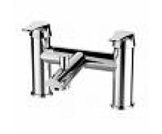Grb Grifo de baño-ducha bimando GRB sobre repisa E-Plus Cromo