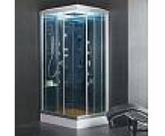 Cabina ducha Hidromasaje con Sauna ECO-DE® INSPIRATION 110X85X225 Cm