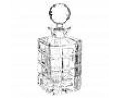 Maisons du Monde Jarra de whisky de cristal TIMES SQUARE