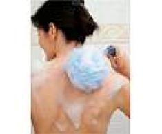 Venca Hogar Esponja de baño con mango ergonómico basculante azul 000