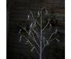 Kaemingk Árbol de Navidad ARBOL LED blanco cálido 1,8 metros