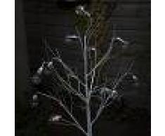 Kaemingk Árbol de Navidad ARBOL LED blanco cálido 1,25 metros