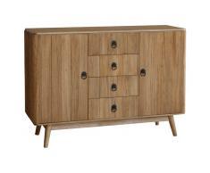 Aparador de madera, 120x40x86,5 cm