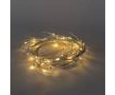 Kaemingk Luces de Navidad RAMA ABEDUL LED blanco cálido 1,5 metros