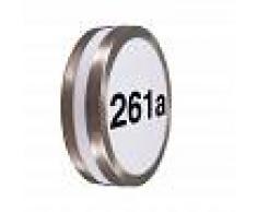 QAZQA Aplique acero RVS pegatinas núm IP44 - LEEDS
