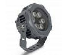 Barcelona LED Foco proyector LED 12W óptica 15º blanco cálido