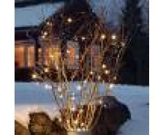 Konstmide CHRISTMAS Cadena LED Martin sensor crepuscular 20 luces
