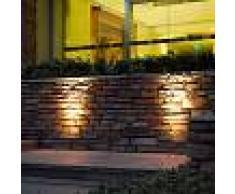 Lampenwelt.com Foco LED empotrable en suelo Jos orientable, IP67