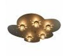 Niermann Standby Lámpara de techo Nube en óptica de titanio