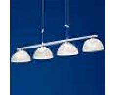B-Leuchten Lámpara colgante LED Ebro atenuable, regulable