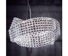 Marchetti Lámpara colgante de cristal Diamante Ø 65 cm