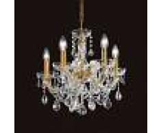 Masiero Annino - lámpara de araña con cristal de Swarovski
