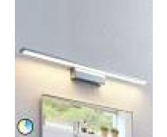 Lindby Aplique LED Tyrion para el cuarto de baño, 80 cm