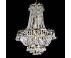 Searchlight Impresionante lámpara de araña VERSALLES, cristal