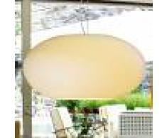 Casablanca Lámpara colgante AIH cristal 38cm crema brillante