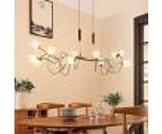 Lampenwelt.com Lámpara colgante LED Hannes regulable, atenuable