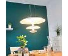 Lampenwelt.com Extravagante lámpara colgante LED Riley