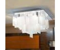 EGLO Lámpara de techo Condrada 1 colgante de cristal