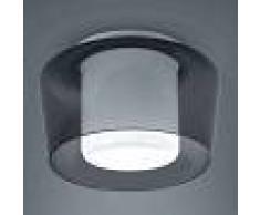 Helestra Elegante lámpara de techo Canio con cristal doble