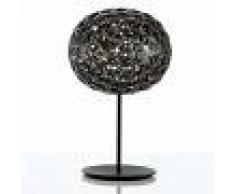 Kartell Lámpara de mesa LED Planet, atenuador, ahumado