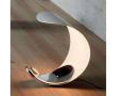 Luceplan Lámpara de mesa de diseño Curl con LEDs