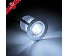 Brilliant Lámpara empotrada LED Cosa, 3 cm, set de 10