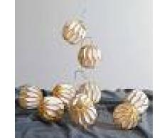 Best Season Cadena de luces LED Origam, oro
