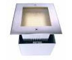 Deko-Light Foco empotrado LED suelo Square II, bianco caldo