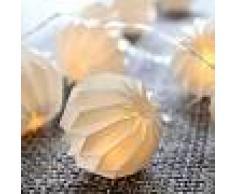 Best Season Cadena de luces LED Paper Flower Blanco