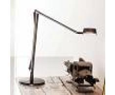 Kartell Lámpara de mesa LED Aledin Dec ajustable, ahumado