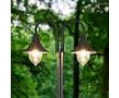 Lampenwelt.com Madea - Candelabro de 2 llamas