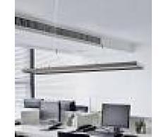 Lampenwelt.com Lámpara colgante LED Divia de oficina atenuable