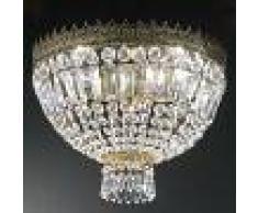 Kögl Lámpara de techo de cristal CUPOLA 40 cm