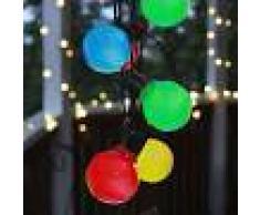Best Season Cadena de luces LED Partaj, multicolor