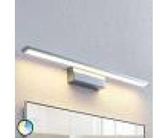Lindby Aplique LED Tyrion para el cuarto de baño, 60 cm