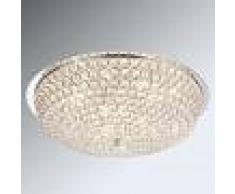 Globo Lámpara de techo de cristal Emilia bombillas LED