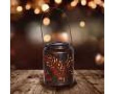 Näve Lámpara decorativa LED Hoja, energía solar