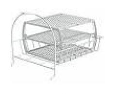 Bosch Accesorio lavadora - WMZ20600, Cesto redondo para seno de fregadero, Blanco