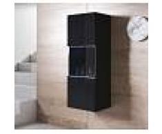 Armario colgante modelo Luke V3 (40x126cm) color negro