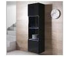 Armario colgante modelo Luke V6 (40x165cm) color negro