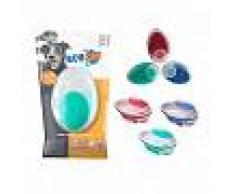 M-PETS Cepillo Dispensador De Jabón Y Masaje Rubeaz Azul