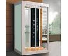 Cabina de Hidromasaje ECO-DE® IMPERIAL Blanca 120x90x220 cm ECO-8110W