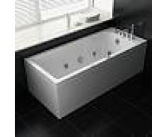 Bañera de hidromasaje ECO-DE® TENERIFE 180x80x60 cm ECO-8527