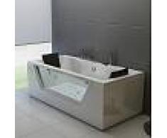 Bañera de hidromasaje ECO-DE® HYDROSANA 185x90x68 cm ECO-8523