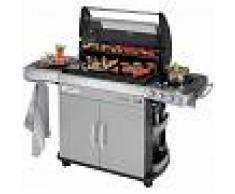 Campingaz Barbacoa de gas Campingaz 4 Series RBS EXS con horno, plancha, parrilla y módulo culinario