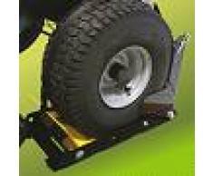 Bloqueador de ruedas regulable - diametro de ruedas hasta 460 mm - para todos los tractores cortacésped de jardín